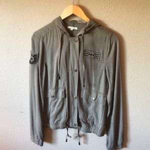 Olive Green Maurice's Army Jacket XS